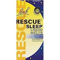 Bach Rescue Sleep Natural Sleep Remedy Liquid Melts