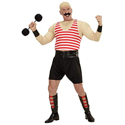 WIDMANN - Disfraz de Hombre musculoso para Adulto: Amazon.es ...