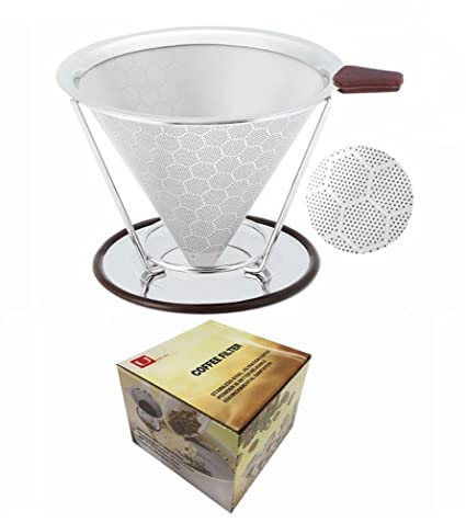 Amazoncom U Only You Reusable Coffee Filter Permanent Stainless
