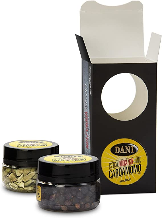 DANI - Pack Especial Vodka/Gin Tonic Cardamomo Caja 55 Gr: Amazon ...