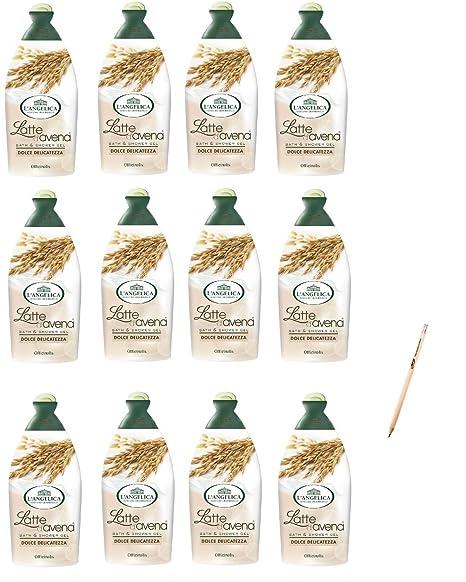 LAngelica -Gel de baño de leche de avena (
