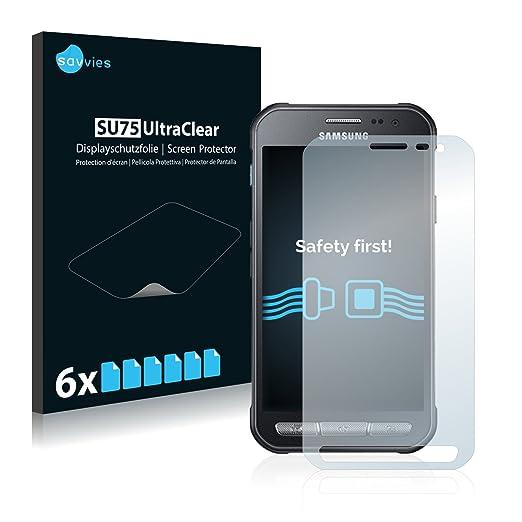 21 opinioni per [6 Pack] Savvies Pellicola Protettiva per Samsung Galaxy Xcover 3 Protezione