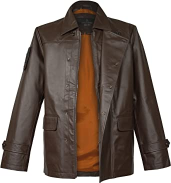Nappa Chaqueta World Of Hombre De Musterbrand The Cuero Front Tanks AHzwHv