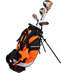 Remarkable Right Handed Junior Golf Club Set for Age 3 to 5 (Height 3' to 3'8
