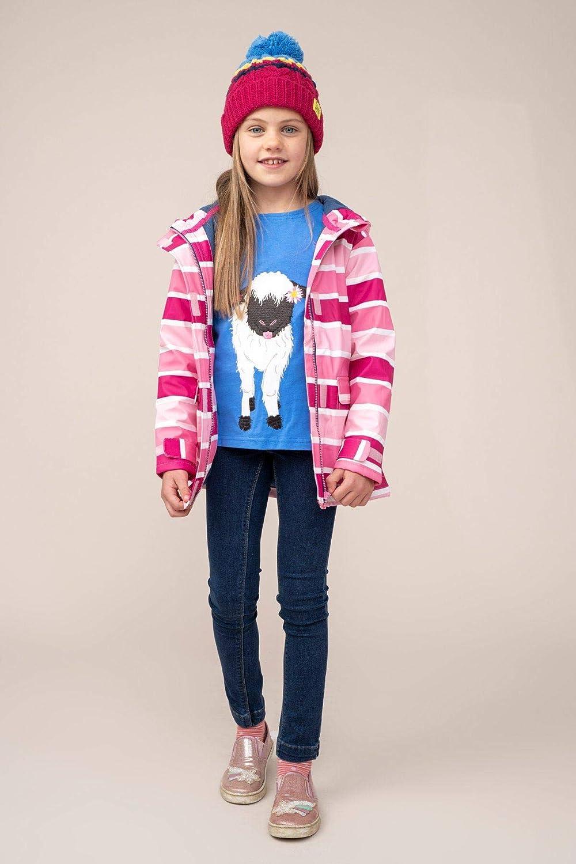 LightHouse Amy Girls Rubber Raincoat