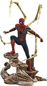 DIAMOND SELECT TOYS Marvel Gallery: Avengers Infinity War Movie Spiderman PVC Gallery Figure