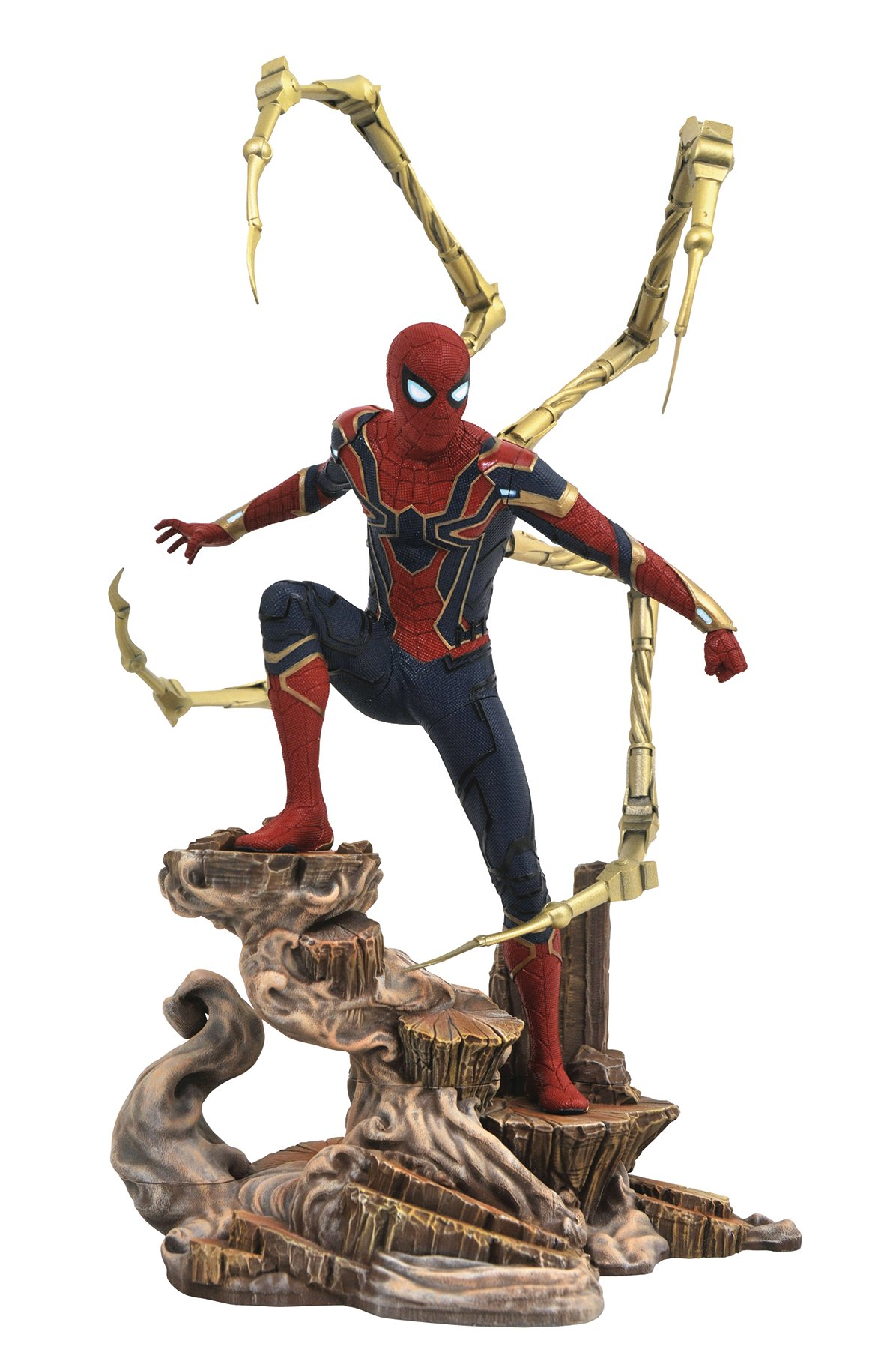 DIAMOND SELECT TOYS Marvel Gallery: Avengers Infinity War Movie Spiderman PVC Figure