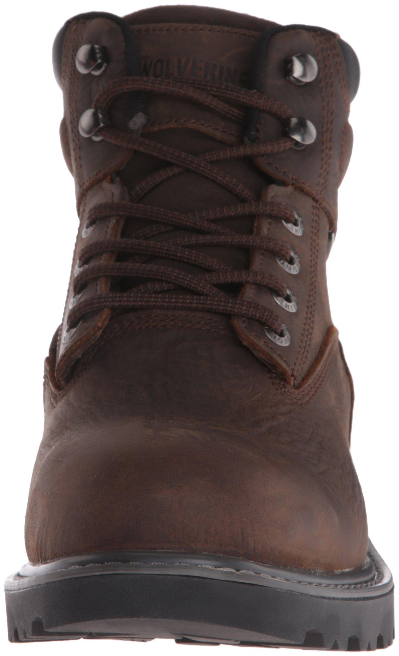 Wolverine Men's Floorhand 6 Inch Waterproof Steel Toe Work Shoe, Dark Brown, 9.5 M US by Wolverine (Image #4)