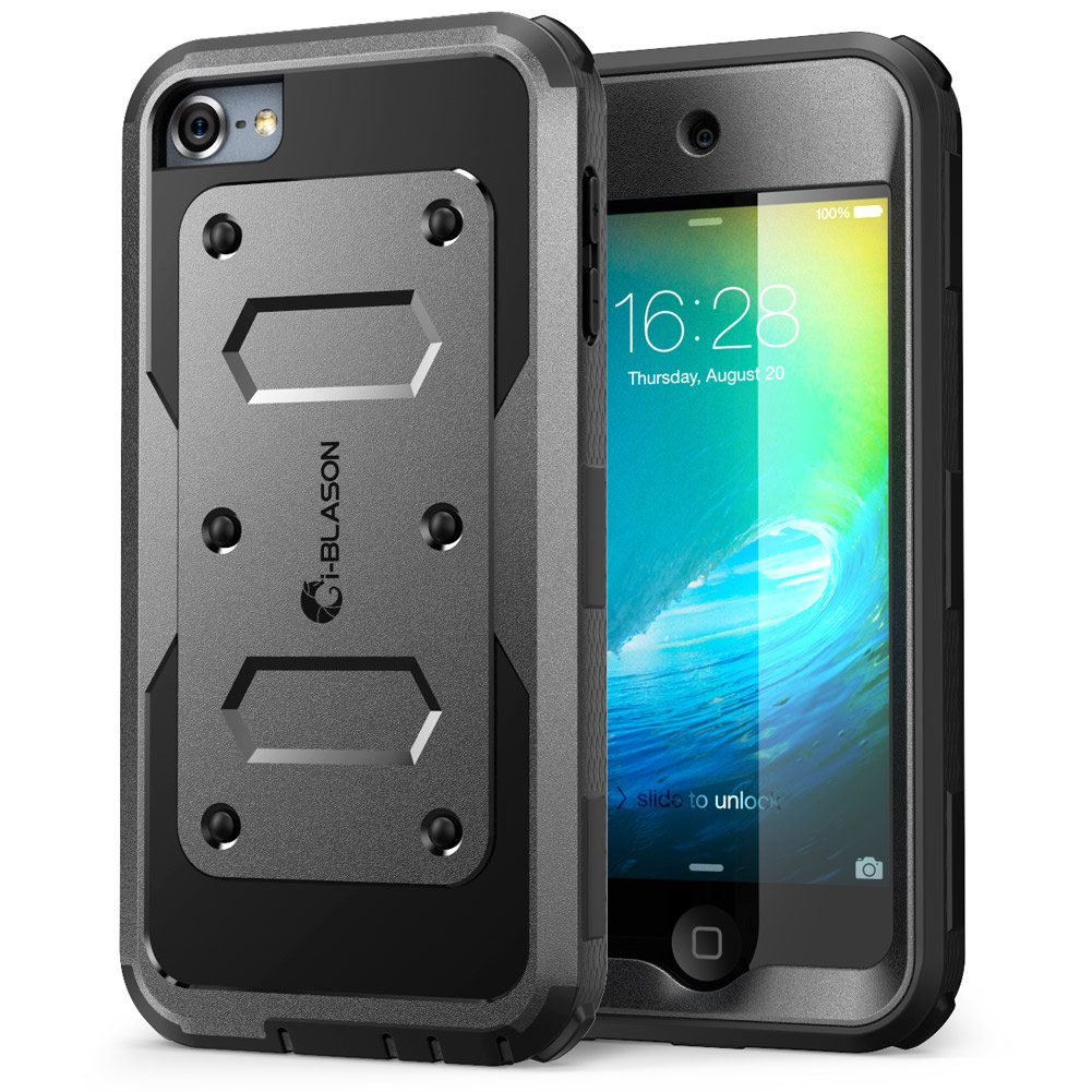 wholesale dealer 7a2d2 0a093 Details about iPod Touch 6th Generation Case [Heave Duty] i-Blason Apple  iTou... Free Shipping
