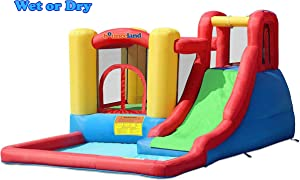 Bounceland Jump and Splash Adventure Bounce House Bouncer