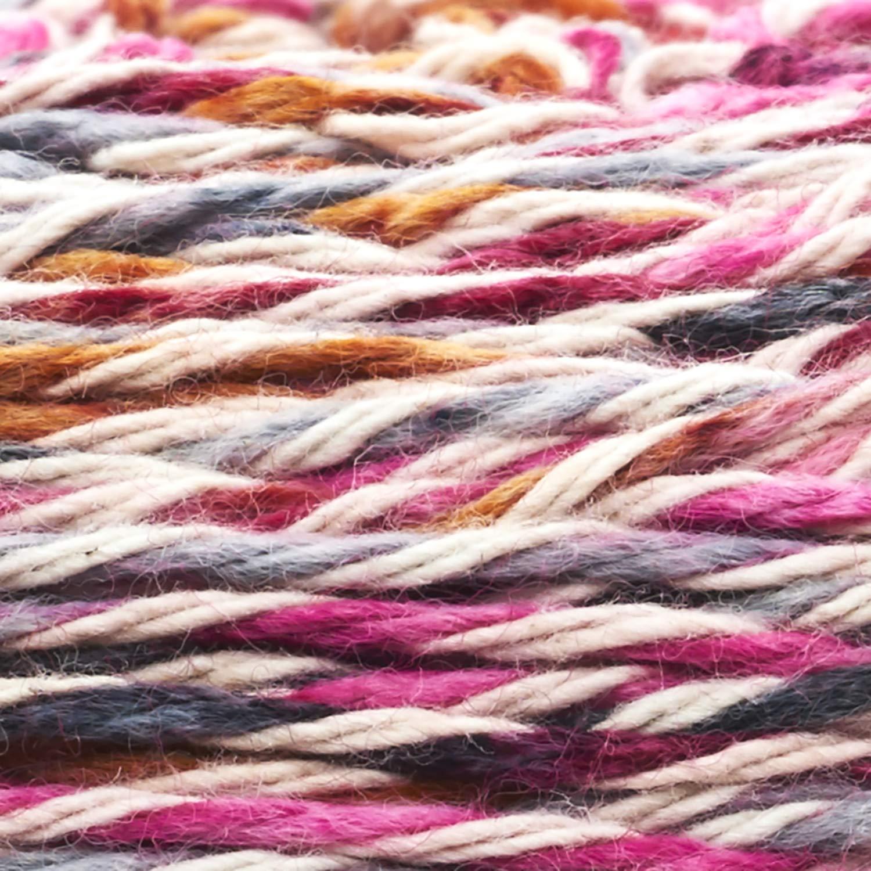 Sugarcane 1 skein//ball Lion Brand Yarn 756-722 Comfy Cotton Blend Yarn