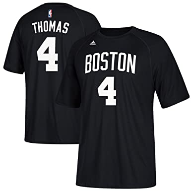 17ff85e528331 ... Basketball Jersey by Outerstuff Sports Outdoors Isaiah Thomas Boston  Celtics 4 Black Climalite Youth Performance Name And Number T Shirt ...