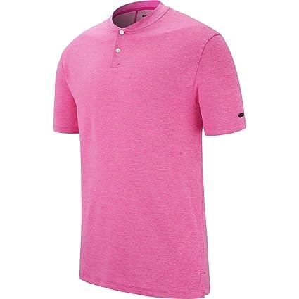 3f7c79c4 Amazon.com: NIKE TW Vapor AeroReact Blade OLC Golf Polo 2019: Clothing