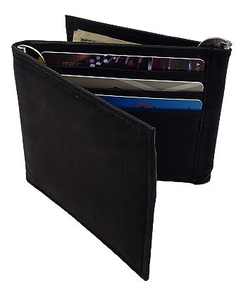 Amazon.com: AG billeteras de los hombres Trifold de vaca ...