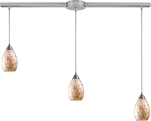 Elk 10141/3L Capri 3-Light Pendant,36″ x 9″