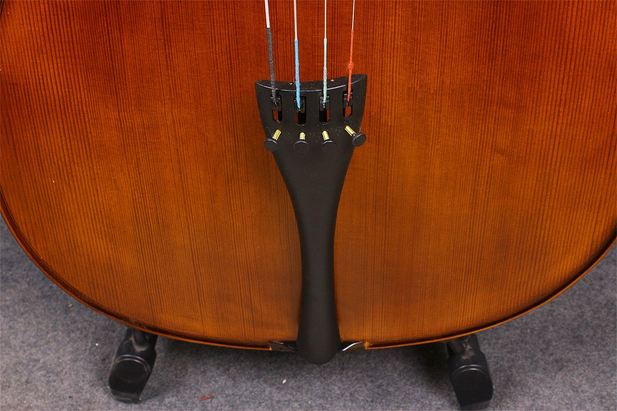 Black Yinfente Electric Acoustic Cello 4//4 Solid Maple Spruce wood Ebony Fittings Sweet Sound With Cello Bag Bow