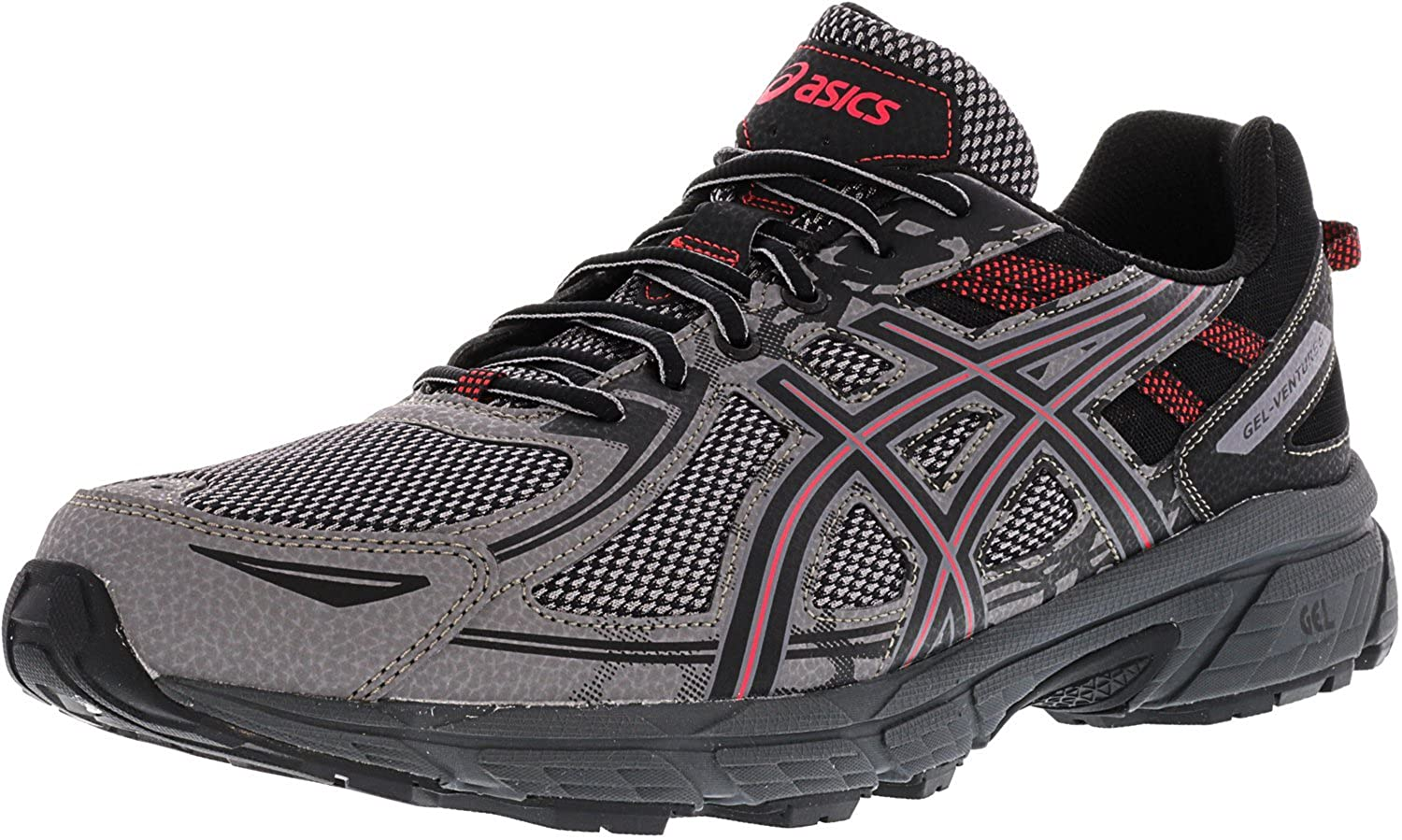 Asics Men's 6 Gel-Venture 6 Ankle-High Running Shoe B077MMT6VB Running Carbon 9.5/Cayenne 9.5 M US 9.5 M US|Carbon/Cayenne, 燃えるカワサキグループ:be3956d6 --- lindauprogress.se