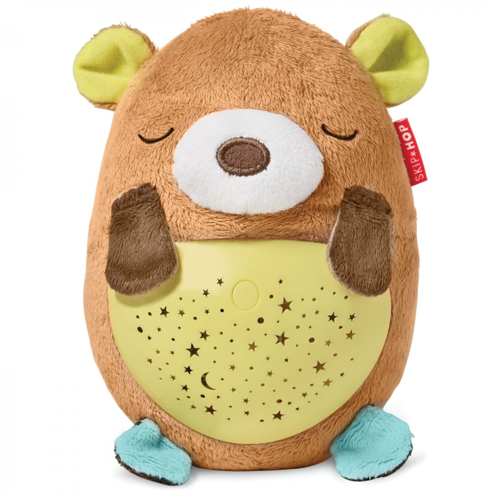 Skip Hop Moonlight & Melodies Hug Me Projection Soother, Bear 307156