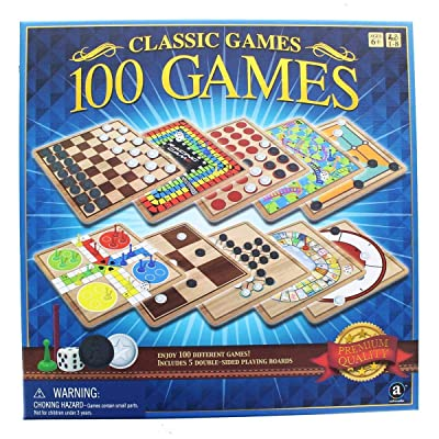 Classic 100 Games Perfect family games!: Toys & Games