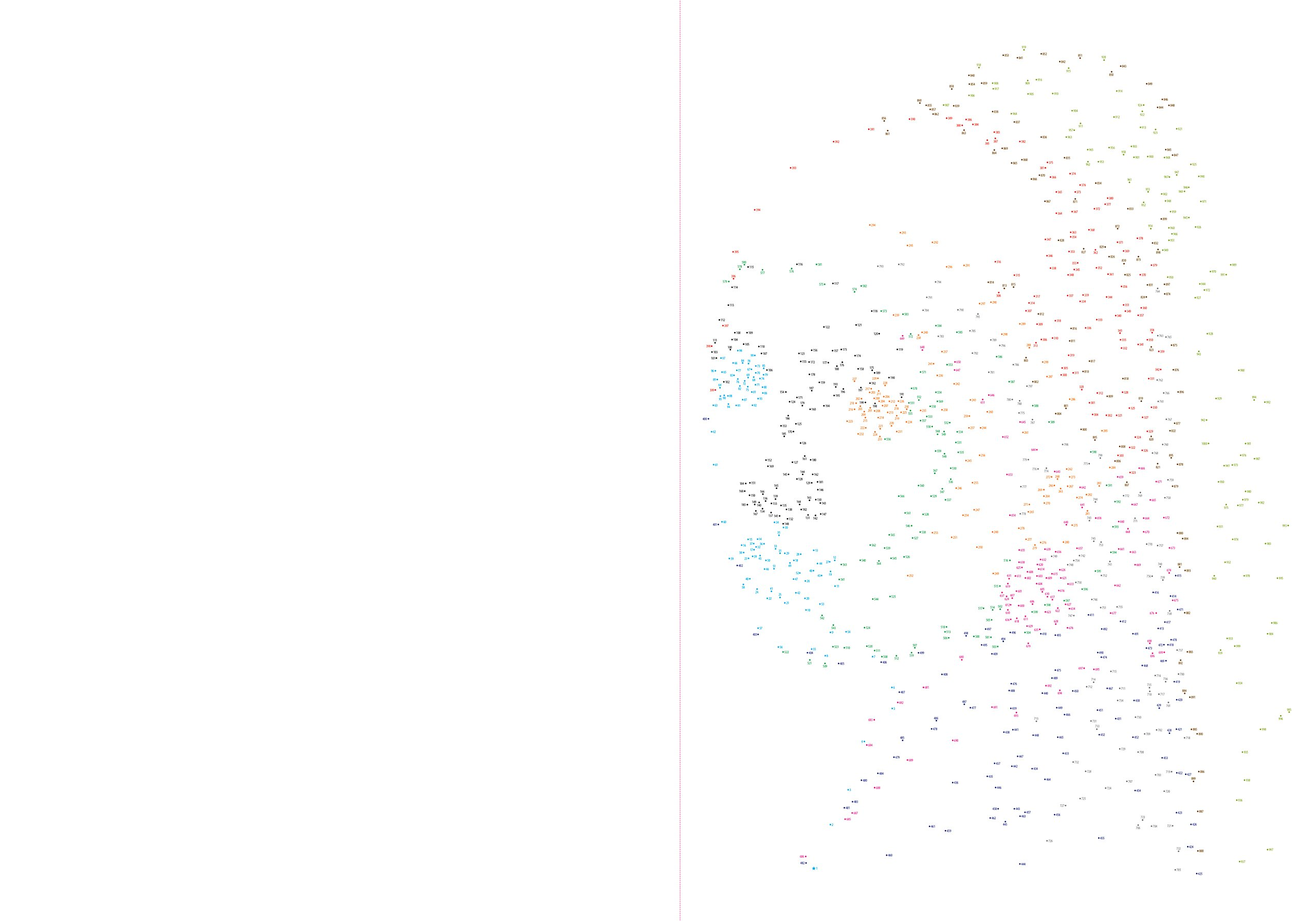 the 1000 dot to dot book masterpieces twenty iconic works of art