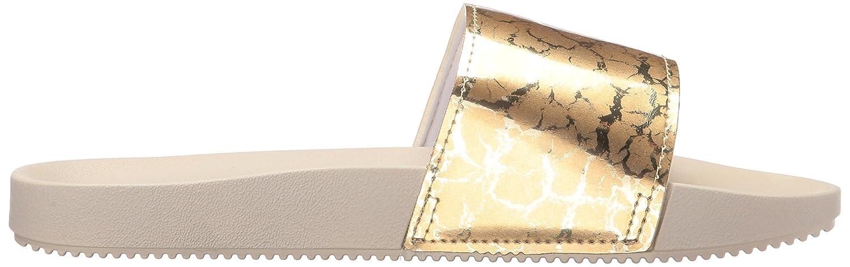 Zaxy Women's Snap Slide Sandal B072188SRY 9 B(M) US|Gold