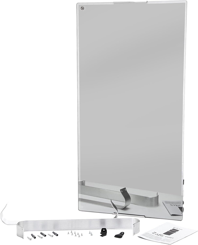 contr/ôle par WIFI App et programmateur hebdomadaire. PURLINE ZAFIR V600T LUX Radiateur s/èche-serviettes /électrique en verre tremp/é avec effet miroir
