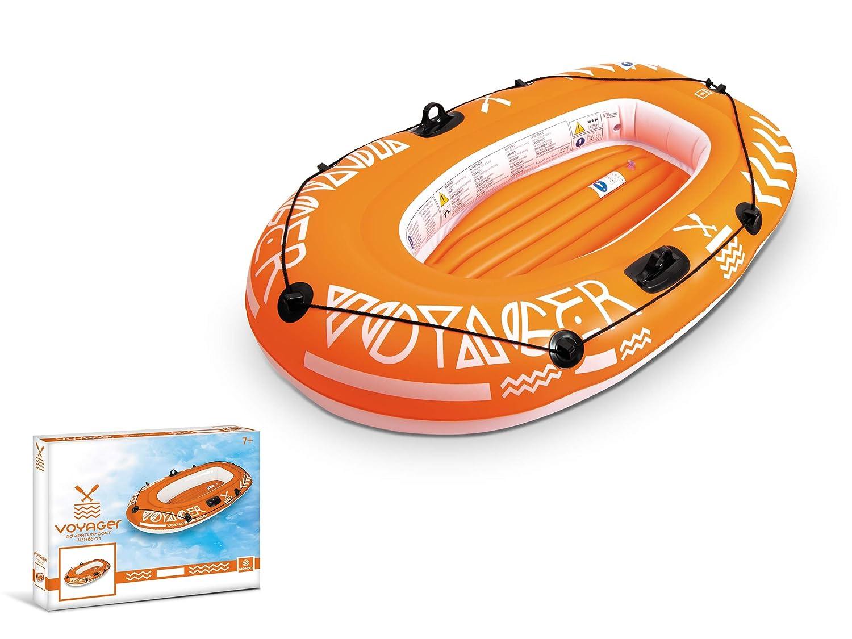 Mondo Toys- Barca Hinchable para Playa O Piscina Voyager 100, (MD ...