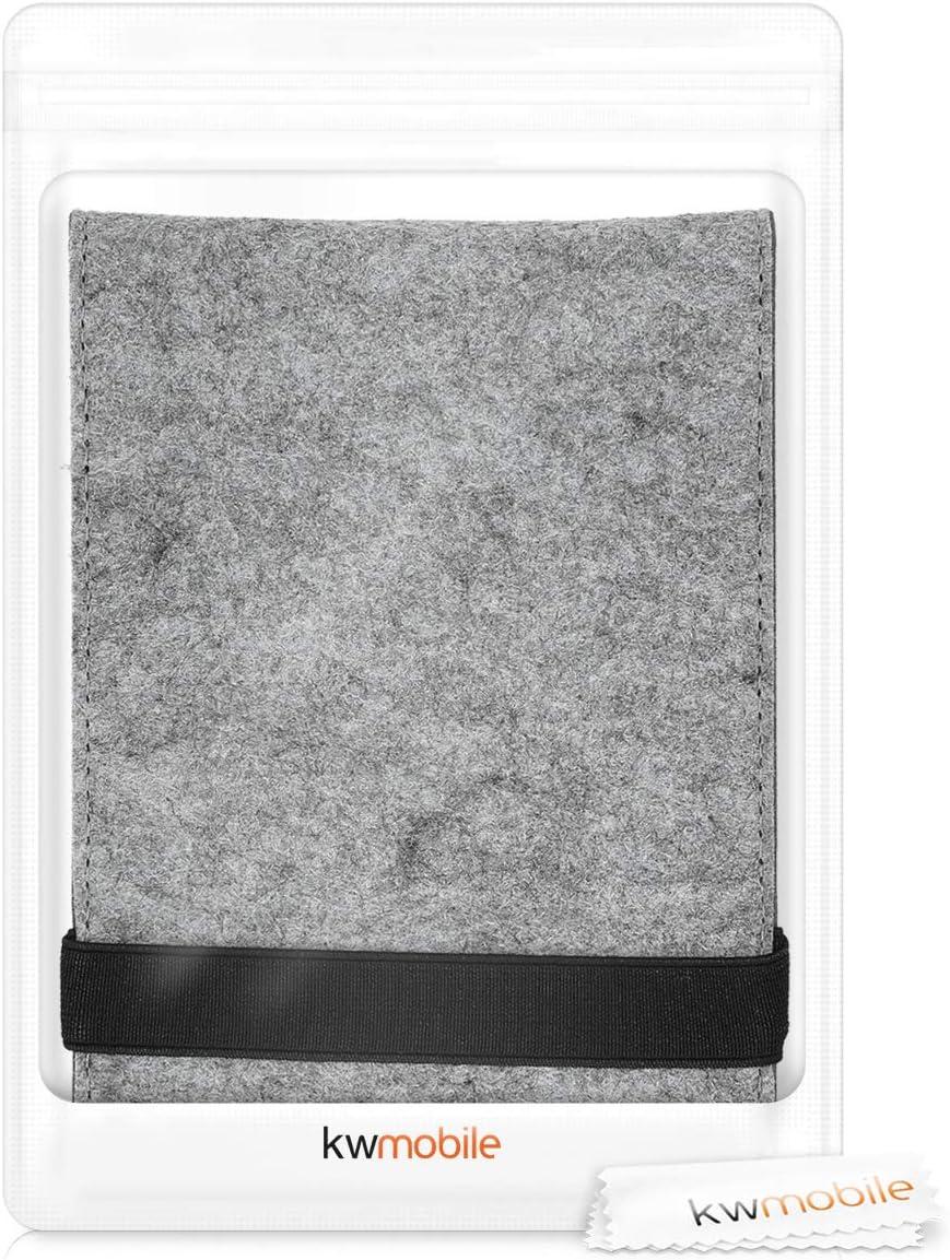 kwmobile Funda Compatible con e-Reader  Kindle Paperwhite Carcasa de Fieltro para Lector electr/ónico Fieltro