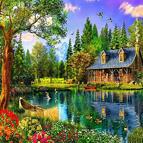 Rural Diamond Embroidery 5D Diamond DIY Painting Craft Home Decor