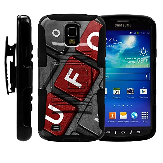 TurtleArmor | Compatible for Samsung Galaxy S4 Active Case | I9295 | I537 [Hyper Shock