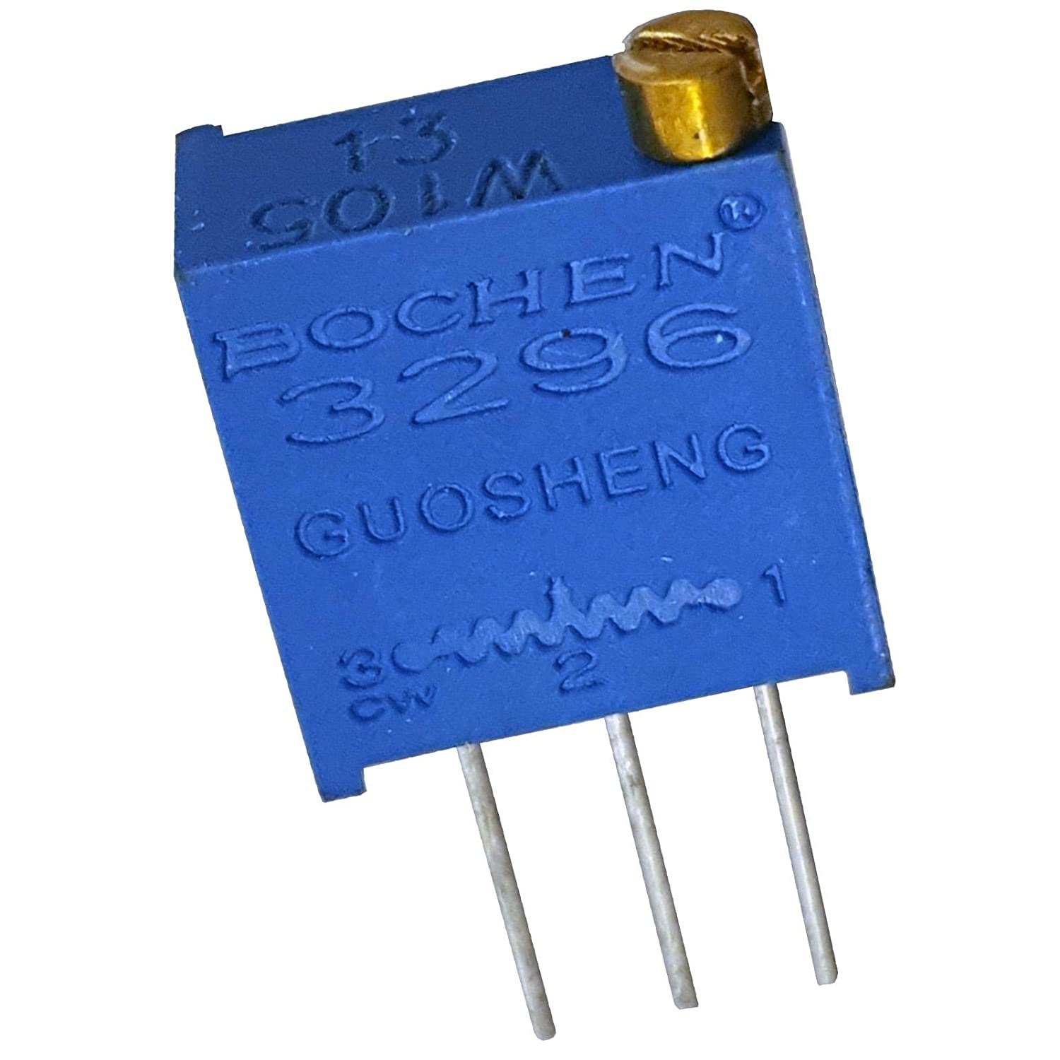 5 x 5K ohm 502 3296W Multiturn Variable Trimmer Preset Resistor Trimming Potentiometer Square Trimpot Bochen