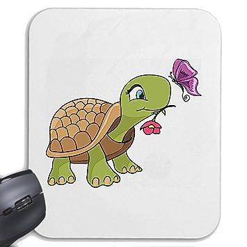 Mousepad alfombrilla de ratón TORTUGA dulce con la flor y la ...
