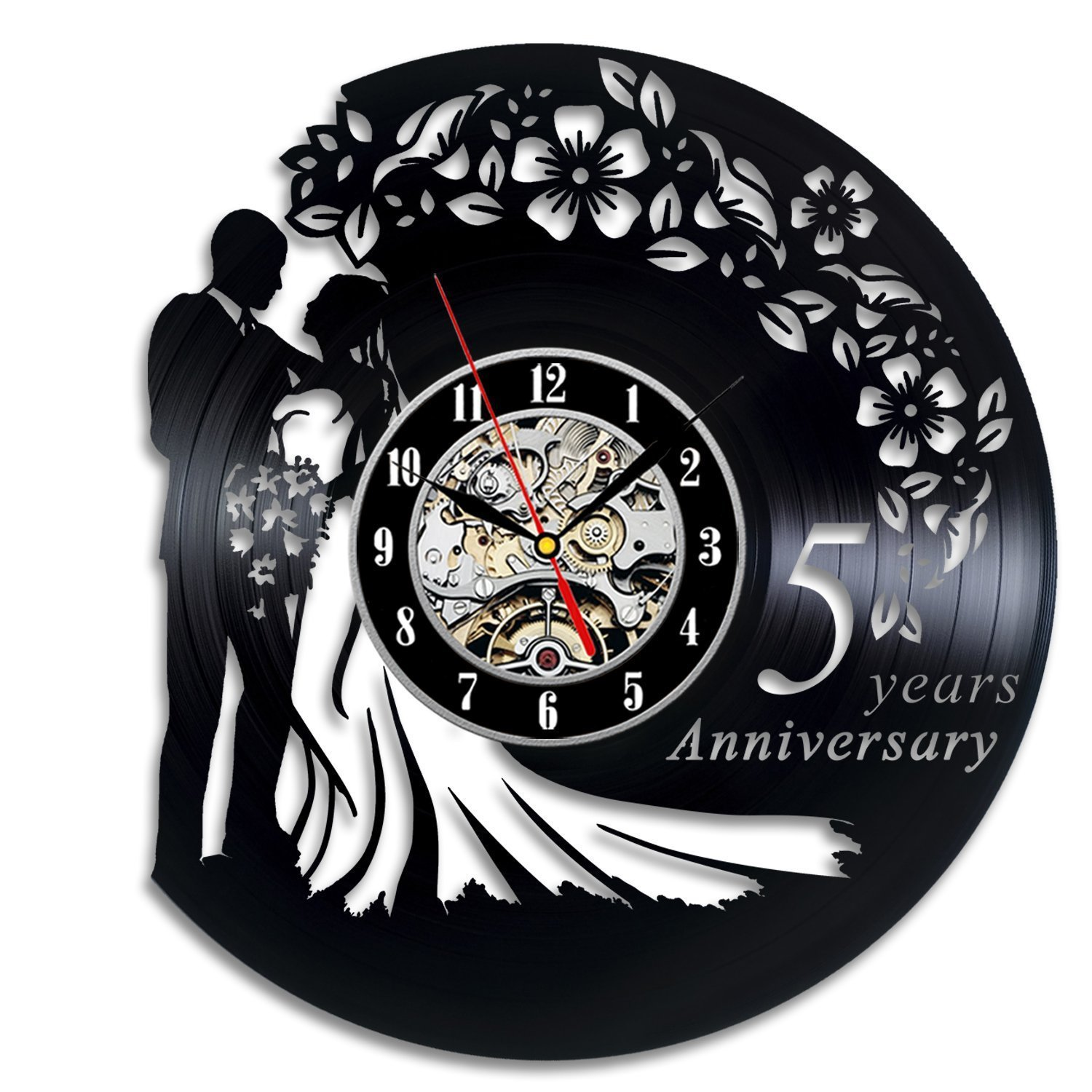 Jedfild The lovely couple art wall clock