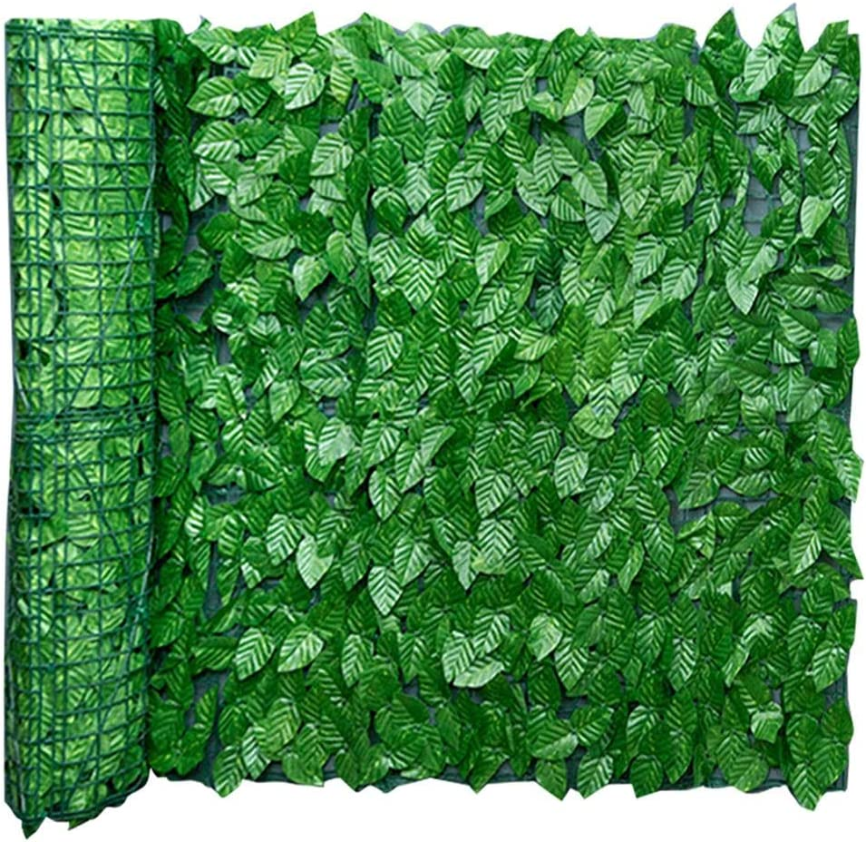 Artificial Leaf Wall Panels, Privacy Hedge Screen UV Protected, Duable Retractable Privacy Fence for Outdoor Garden Greenery, Wall, Wedding, Home Decoration, 0.5 x 1m / 0.5 x 3m