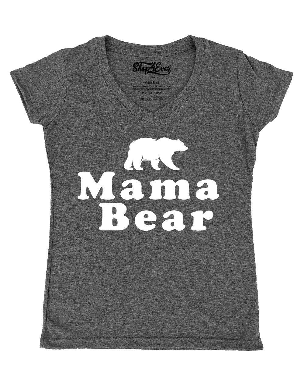 Mama Bear Vneck Tshirt
