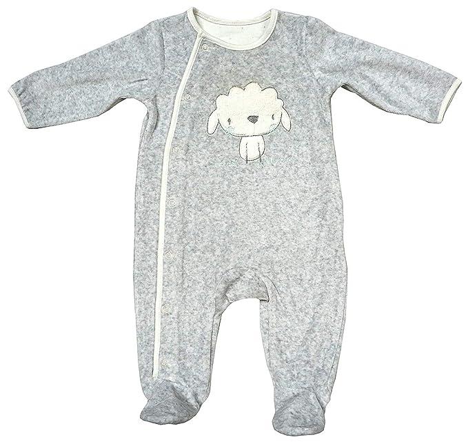 BabyPrem Baby Mädchen Jungen winzigen Frühchen Kleidung Velours Pyjama 32-50cm