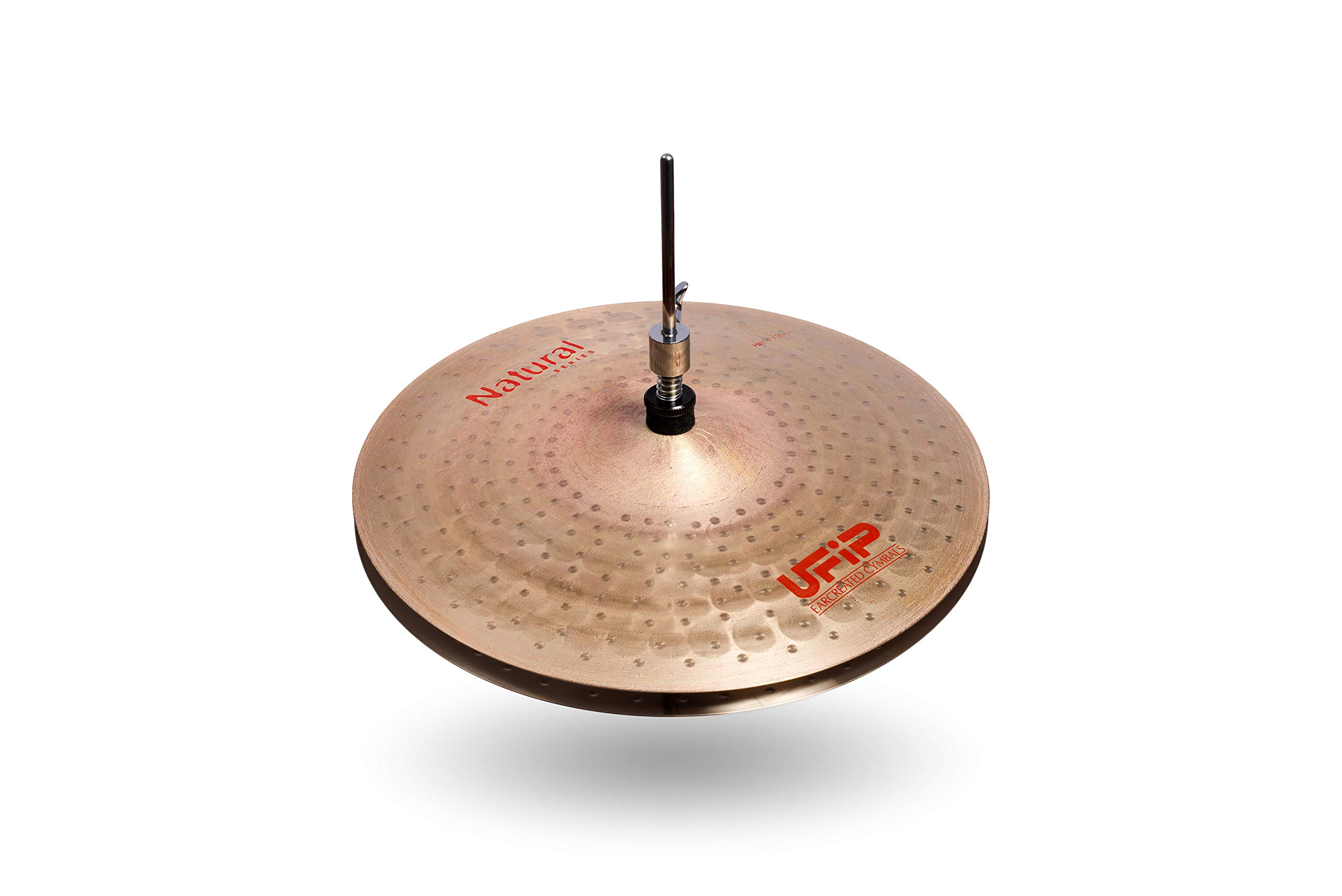 Ufip Cymbals Natural Series Hi-Hat Cymbals 14 Inch (NS-14LHH
