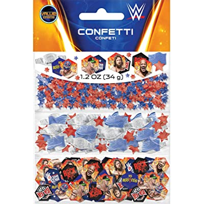 amscan WWEParty Confetti Value Pack, Party Favor: Toys & Games