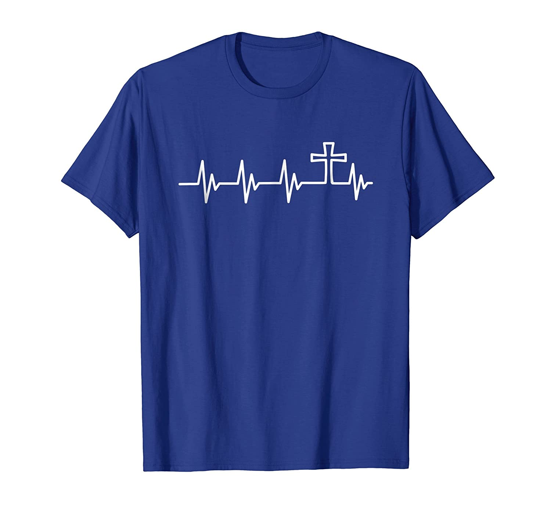 Christian Heartbeat T-Shirt Men Women Kids Tee-Newstyleth