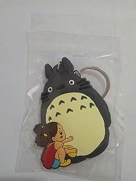 WoloShop Llavero de goma Totoro y Mei Mi vecino Totoro ...