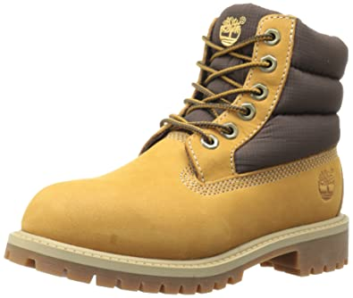 3f0f55ed29eb7d Timberland 6 in Classic Boot FTC 6 in Quilt Boot, Unisex Children's Boots,  Brown