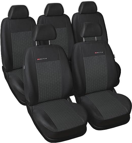 Gsc Sitzbezüge Komplettset 5 Sitze Nach Mass Autositzbezug Elegance Kompatibel Mit Seat Alhambra 96 10 5 Sitze Auto