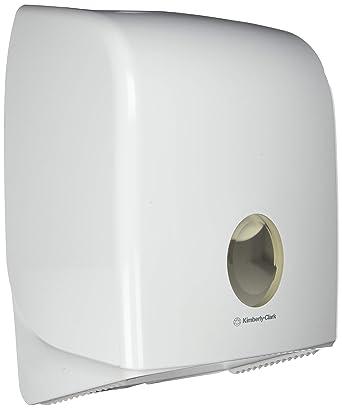 AQUARIUS* Dispensador de Papel Higiénico Mini Jumbo sencillo 6958 – Blanco