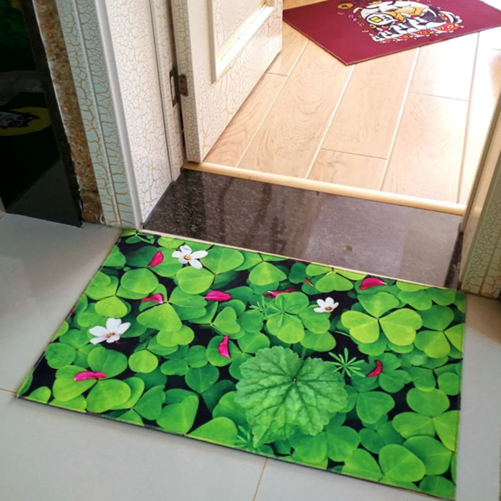 B 50x80cm(20x31inch) Carpet Door mats Foot pad Bedroom Doorway mat Bathroom Pads Kitchen Non-Slip-A 140x200cm(55x79inch)