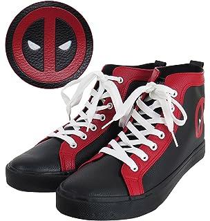 f0c72f630f Deadpool Logo Men s High Top Sneakers
