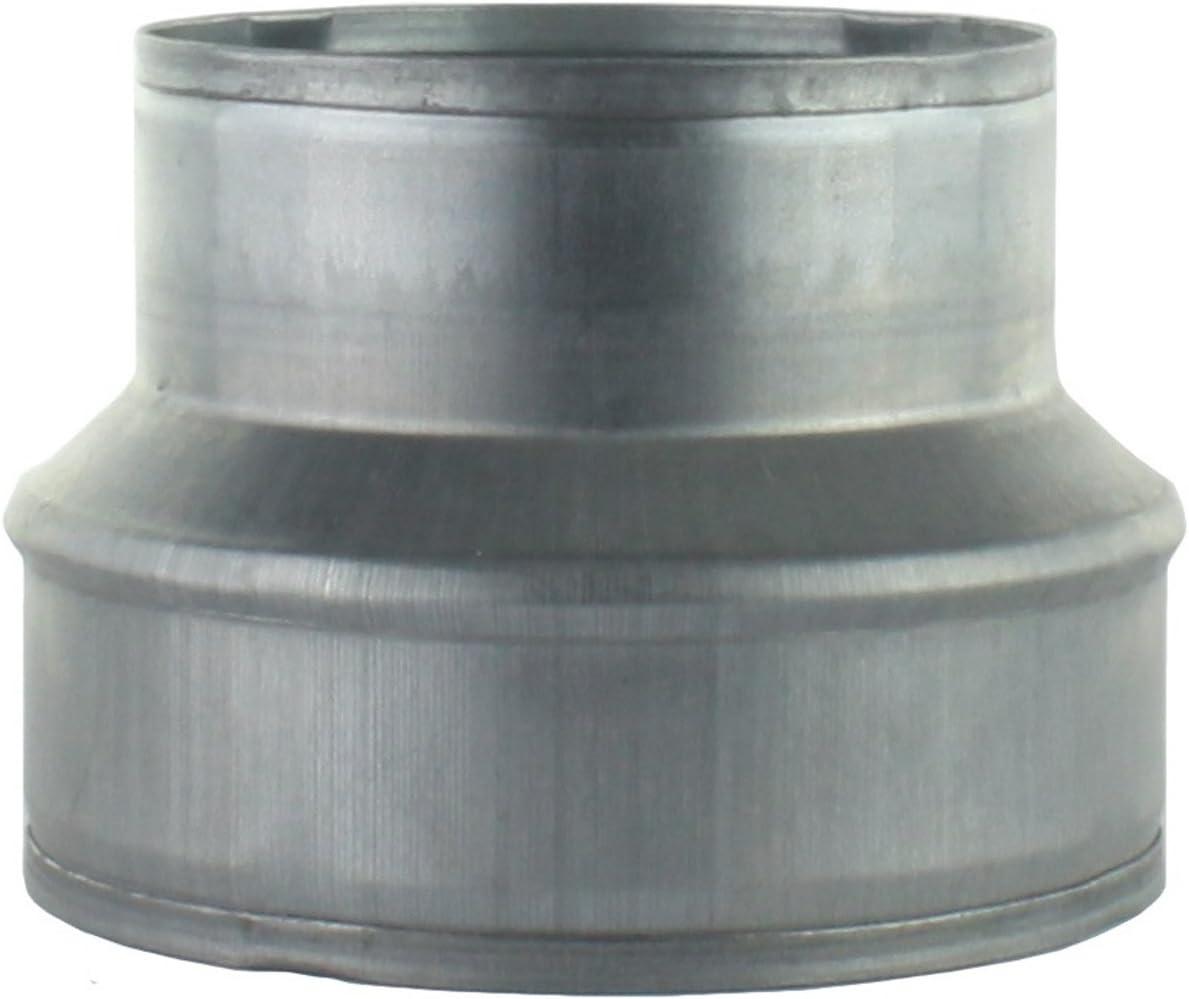 /Pieza reductora Reducci/ón aluminio Flex Tubo Flex Tubo Wick de ventilaci/ón ELF ALZ Tubo galvanizado /18438/ MKK/
