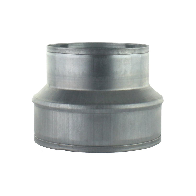 MKK 250 mm Reduzierst/ück Reduktion Aluflex Rohr Flexrohr L/üftung Wickelfalzrohr Verzinkt 315 mm 18438-010