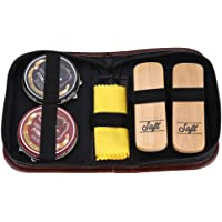 Cleaning Brushes Set, 6Pcs Portable Boots Shoes Sneakers Cleaning Polish Brushes Kit Shine Shoe Leather Care Case Shoe Cleaning Set