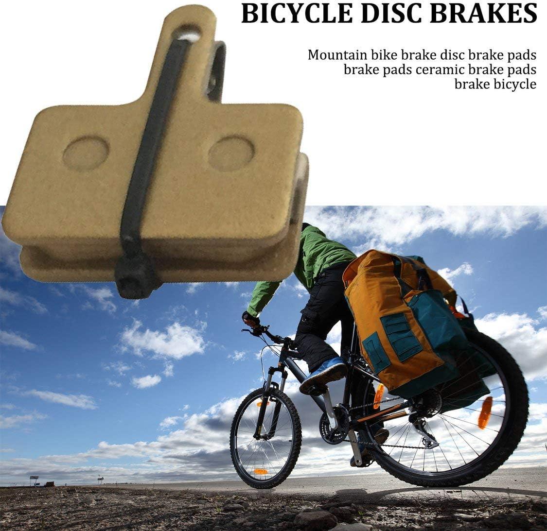 FancyswES8eety Pastillas de cerámica Bicicleta Frenos de Disco de fricción Hoja de Bicicletas Pastillas de Freno Reduce el Ruido: Amazon.es: Deportes y aire libre