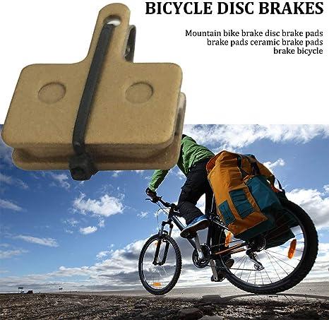 FancyswES8eety Pastillas de cerámica Bicicleta Frenos de Disco de ...